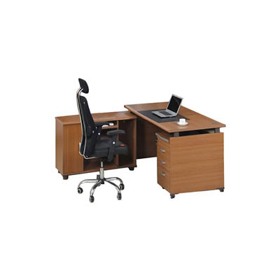 DESK WITH SIDE RETURN DRAWERS FCL LCOFE 116 edited