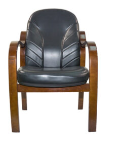 WOODEN ARM EXECUTIVE VISITOR CHAIR006