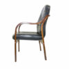 WOODEN ARM EXECUTIVE VISITOR CHAIR008